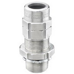 Appleton TMC2-075075A TMC2 Cable Gland Connector 3/4 Inch NPT 0.420 - 0.630 Inch Dia Armor 0.500 - 0.750 Inch Dia Jacket Copper-Free Aluminum