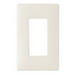 Pass & Seymour SW26-LA 1-Gang Screwless Wallplate; Steel, Light Almond, Wall Mount