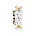 Pass & Seymour 5362-ALA Extra Heavy-Duty Specification Grade Duplex Receptacle; 125 Volt AC, 2-Pole, 10-14 AWG, Nylon, Almond