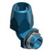 Thomas & Betts 6324 90 Degree Connector; 1 Inch, Thermoplastic