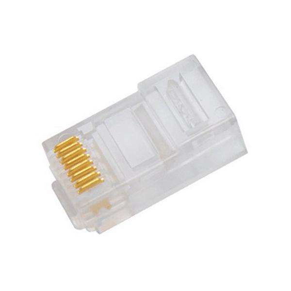 """On-Q 364405-01 On-Q High Performance RJ45 Modular Plug Crimp With OnQ High Performance Crimping tool Mount, Transparent,"""""""