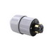 Pass & Seymour 20415-N Turnlok® Plug; 30 Amp, 600 Volt AC/250 Volt DC, 3-Pole, 4-Wire, Black