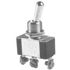 Selecta Switch SS206CP-BG Toggle Switch; SPDT, 125/250 Volt AC, 15/10 Amp
