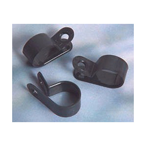 NSI NC-250 Cable Clamp Molded  Nylon 66  Black  Screw Mounting