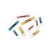 Thomas & Betts RBS14-6X Sta-Kon® Ring Terminal; 16 - 14 AWG, #6 Stud, 1 Hole, 600 Volt, Copper, Blue