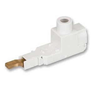 Eaton / Cutler Hammer Z-EB/50/UL Bus Bar Connector; 115 Amp at 40 deg C, 160 Amp at 30 deg C, 480 Volt AC, 240/415 Volt AC, 96 Volt DC, 1 - 14 AWG