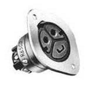 Thomas & Betts 8943U1 DuraTite Ever-Lok  Locking Receptacle 20 Amp  125/250 Volt AC  2-Pole  3-Wire  Male