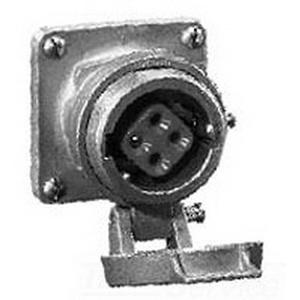 Cooper Crouse-Hinds AR1042-S22 Arktite® Receptacle Housing; 100 Amp, 600 Volt AC/250 Volt DC, 4-Pole, 3-Wire, Pressure, Natural