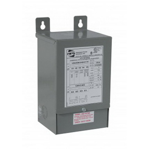 Hammond C1F005JES Fortress Distribution Transformer 347/380 Volt Primary  120/240 Volt Secondary  5 KVA  1-Phase  Wire Leads  Wall Mount