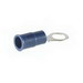 NSI R12-14V Miniterms Ring Terminal; 12-10 AWG, 1/4 Inch Stud, 300 Volt, Copper Alloy, Yellow