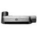 Cooper Crouse-Hinds BLB10-SA Condulet® Type LB Mogul Conduit Body; 4 Inch Hub, Threaded, Copper-Free Aluminum