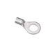Ideal 83-0441 Bare Ring Terminal; 8 Inch, 5/16 Inch Stud, Brass