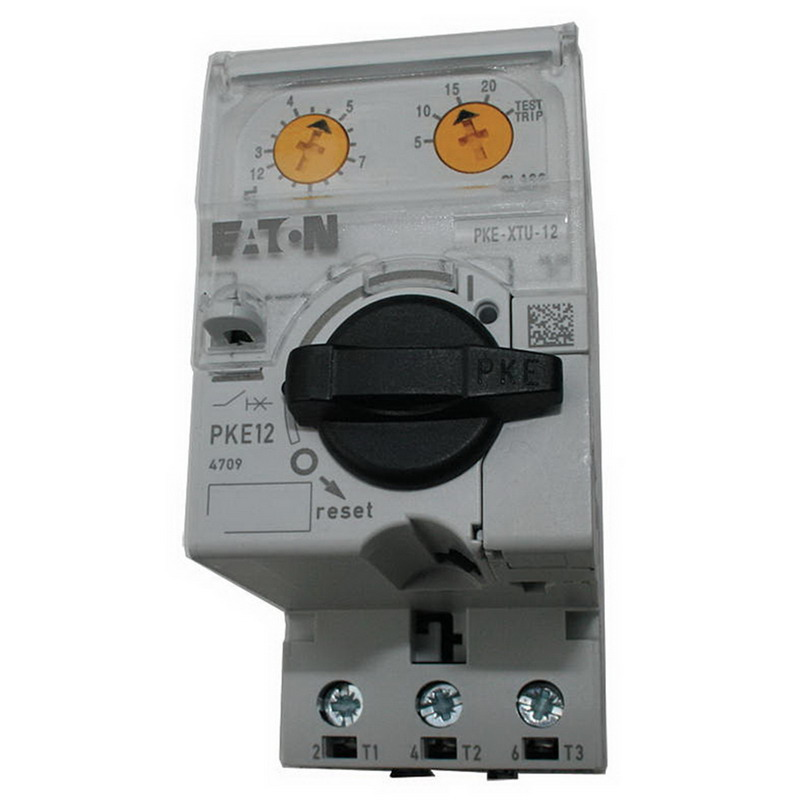Eaton / Cutler Hammer XTPE004BCS Manual Motor Protector; 1 - 4 Amp, 3-Pole, 3 Phase