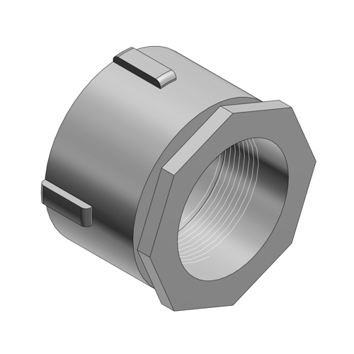Thomas & Betts 675AL Erickson® Coupling; 1/2 Inch, Threaded, Aluminum
