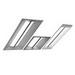 Cree CR24-40L-40K-10V-HD CR24 CR Series Recessed Mount Architectural LED Troffer; 40 Watt, 120 - 277 Volt, 4000 Lumens, 47.700 Inch, White