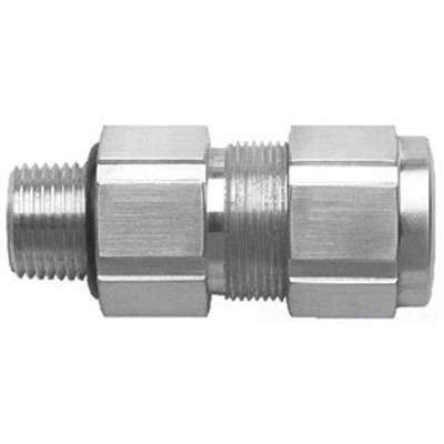 Cooper Crouse-Hinds TECK100-7 Terminator & trade Cable Gland Connector 1 Inch NPT 1.077 - 1.295 Inch Armor 1.187 - 1.375 Inch Outer Sheath