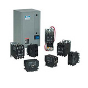 Eaton / Cutler Hammer C25FNF260T Definite Purpose Contactor; 2-Pole, 1 Phase, 24 Volt AC At 50/60 Hz Coil, 60 Amp Inductive, 75 Amp Resistive