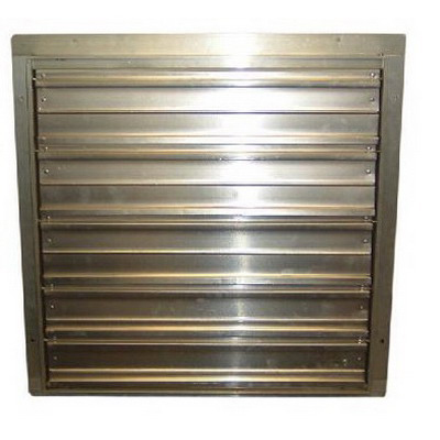 """""TPI/Raywall CES12G Wall Shutter 15.130 Inch Length x 15.130 Inch Width, 110/115/120 Volt Secondary Volt, For 12 Inch Fan,"""""" 123978"
