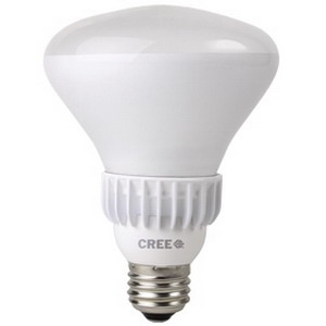Cree BR30-65W-27K-T12 BR30 LED Reflector Lamp; 65 Watt, 120 Volt, 2700K, 80 CRI, Screw Base (E26) Base, 25000 Hour Life, 12 Pack