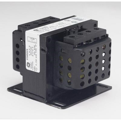 GE Transformer 9T58R2876 Tey/Q-Line Dry Type Core and Coil Transformer 12/24 Volt Secondary  0.15 KVA  1-Phase  Screw Terminal