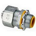 Cooper Crouse-Hinds LTQB100 LiQuik™ LTQ Series Liquidtight Conduit Fitting; 1 Inch, Threaded, Malleable Iron