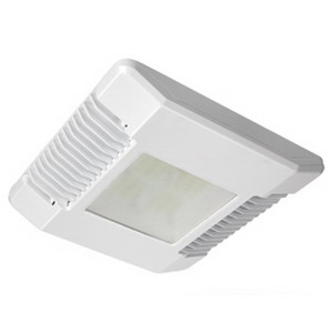 Cree CPY250-A-DM-D-A-UL-WH CPY250™ CPY Series Canopy/Soffit Luminaire; 82 Watt, 120 - 277 Volt, Rugged Cast Aluminum, White