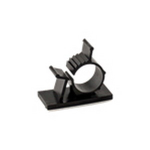 NSI ADJCC-3 Adjustable Cable Clamps; 1.650 Inch Length x 1 Inch Width x 1.750 Inch Height, Self Adhesive Mount, Nylon 6/6