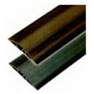 Hubbell Wiring FT3Y5 Floor Trak® Floor Cable Cover; 5 ft Length, Flexible PVC/Rigid PVC