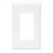 Cooper Wiring 2151GY-BOX 1-Gang GFCI Decorator Wallplate; (1) Decorator, Screw Mount, Thermoset, Gray