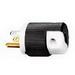 Hubbell Wiring HBL5266EBK Insulgrip® Straight Blade Plug; 15 Amp, 125 Volt AC, 2-Pole, 3-Wire, Cord Mount, Black