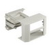 Hubbell Wiring PB3IND2G Scrubshield® 2-Gang In-Line Box; UV Stabilized PVC, Office White