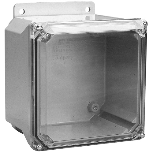 Carlon NV12126 Circuit Safe Enclosure Polycarbonate  Screw-On Clear Cover