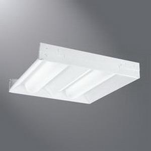 Cooper Lighting 22AC-LD3-34-UNV-L835-CD1-U Metalux® Accord™ LED Troffer; 38.1 Watt, 120 - 277 Volt, 3400 Lumens, 3-3/16 Inch Height x 23-15/16 Inch Width