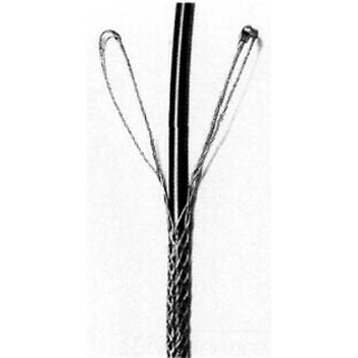 Hubbell Wiring 02407005 Kellems Support Grip 2 – 2.490 Inch Cable  12 Inch Bale Length  36 Inch Mesh Length  20150 lb Breaking Strength  Stainless Steel  Metallic