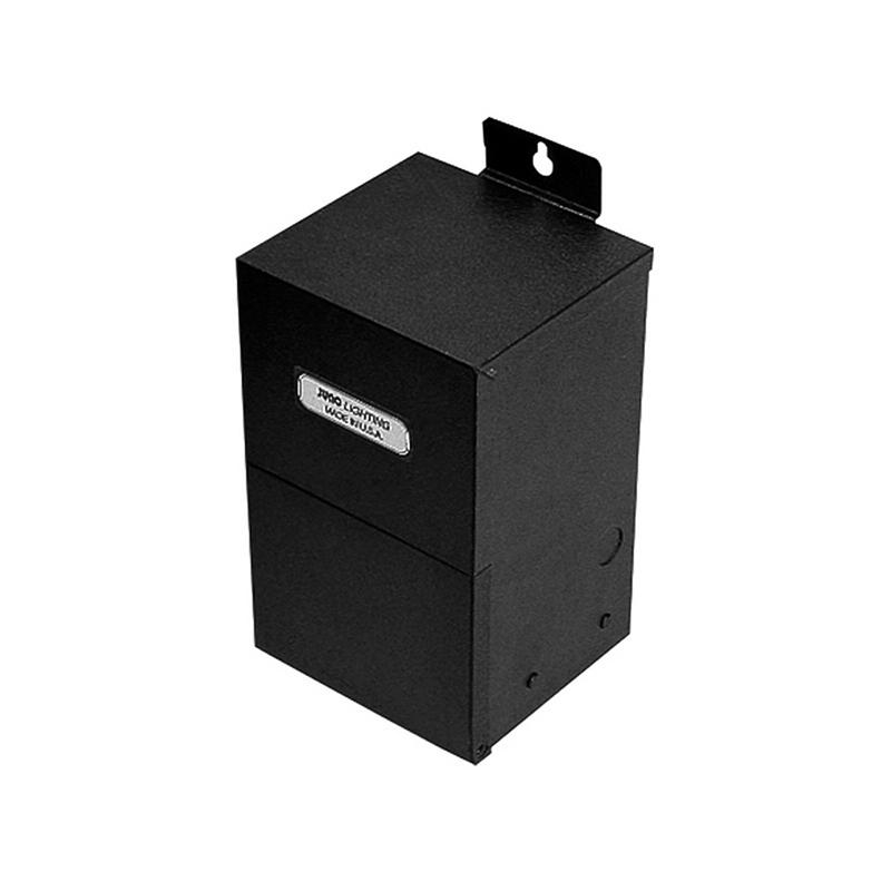 Juno Lighting TL549N-BL-CP6 Electronic Remote Transformer 12 Volt AC  Black