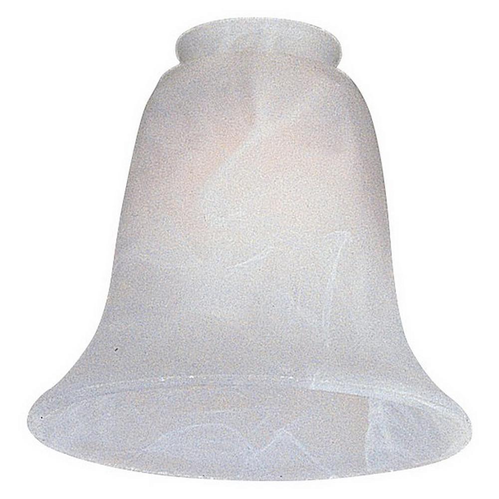 """""""""""Monte Carlo Fan Co G990 Glass White Faux Alabaster,"""""""""""" 127039"""