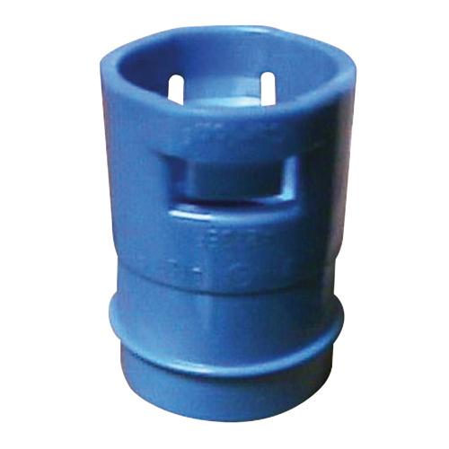 Carlon A273DE ENT Non-Metallic Reducer; 3/4 - 1/2 Inch, Polycarbonate, Blue