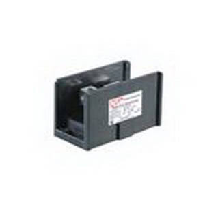 NSI AS-K2-H6 Connector Block; 350 Amp, 600 Volt AC, 2 Hole Mount, Aluminum Body, Glass Filled Polyester Base, Black
