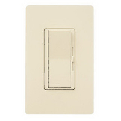 LUTRON DVCL-253P-IV Lighting Dimmer, Decora Rocker, Ivory 127525
