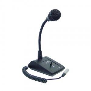"""""Speco Technologies MHL5S Gooseneck Tabletop Microphone Die-Cast Zinc,"""""" 127570"