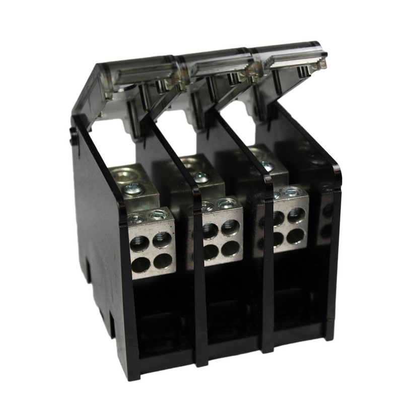 Hubbell Electrical / Burndy BDBLHC245003 Versi-Pole™ Power Distribution Block; 760 Amp, 600 Volt, Aluminum Alloy