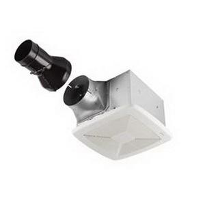 Broan Nu-Tone RB110 Ultra Pro™ Single Speed Fan; 29.8 Watt, 120 Volt, 0.3 Amp, Horizontal Duct, 110 cfm, 0.6 Sones