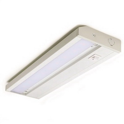 Nora NUD-7712/30W Under Cabinet Light; 120 Volt, 12 Inch Length x 3-5/8 Inch Width x 15/16 Inch Height, White