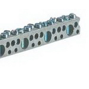 NSI 4-14(12112) Mechanical Connector Neutral Bar Multiple Connector; (10) 4-14 AWG, Aluminum Conductor