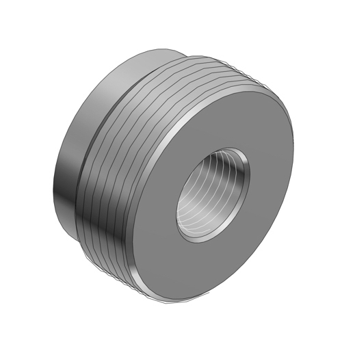 Thomas & Betts 604-TB Reducer 1-1/4 x 1/2 Inch  Threaded  Steel