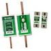 Littelfuse JTD080 Powr-Gard® POWR-PRO® Time-Delay Fuse; Class J, 80 Amp, 600 Volt AC, 300 Volt DC, DIN Mount, Blade End