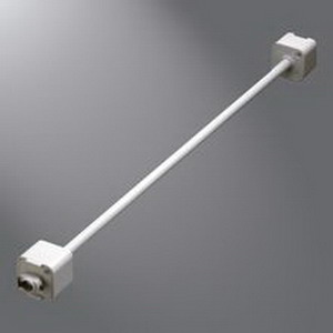 Cooper Lighting L948PX Extension Wand; 48 Inch, White