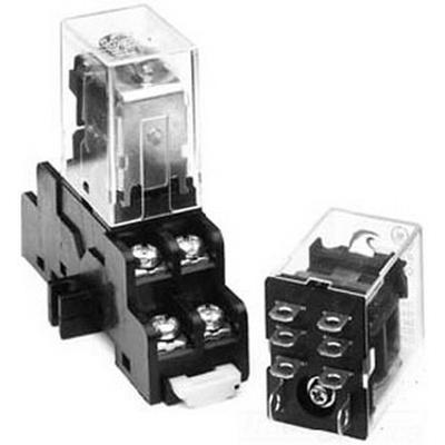 GE Controls 420NPC0224 General Purpose Plug-In Relay; DPDT, 2-Pole, Socket Mount