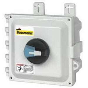 """""""""""Bussmann ER4P-30N3SB Non-Fusible Disconnect Switch 16 - 12500 Amp, 600 Volt AC, NEMA 1, 3R, 4, 4X, 12, Black,"""""""""""" 129719"""