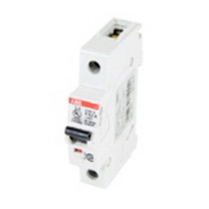 ABB S201UP-K4 System pro M compact® Miniature Circuit Breaker; 4 Amp, 480Y/277 Volt AC, 1-Pole, 35 mm DIN-Rail Mount